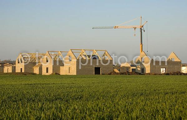 Construction de la nouvelle gendarmerie