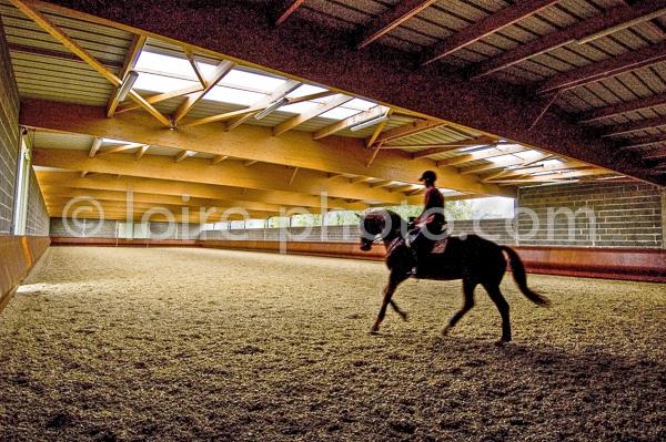 Manège cordier - Ecole Nationale d'équitation - Saumur