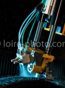 SOREVAL - Rechapage de pneus - Photo industrielle Indre et Loire