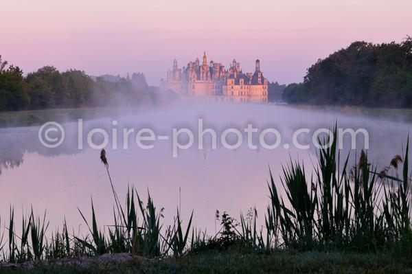 CHATEAU DE CHAMBORD, LOIR ET CHER, FRANCE//France, Loire Valley, Palace Of Chambord