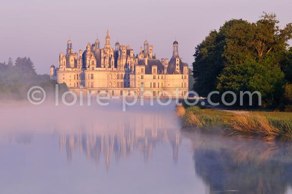 CHATEAU DE CHAMBORD, LOIR ET CHER, FRANCE // France, Loire Valley, Palace Of Chambord
